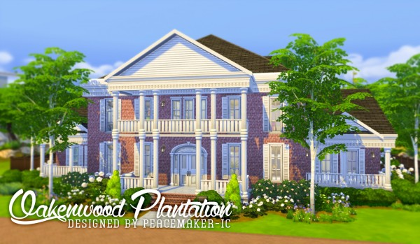 Simsational designs: Oakenwood Plantation