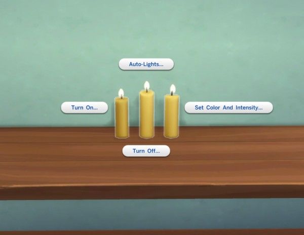 Mod The Sims: Candles + Candle Holders by plasticbox