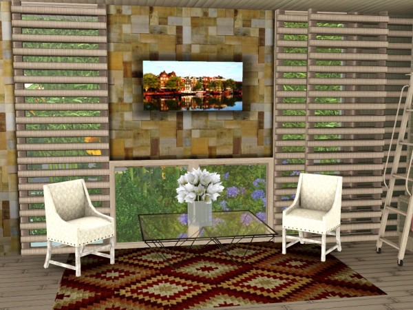 Sims and Just Stuff: City Scape Paintings by Abigail