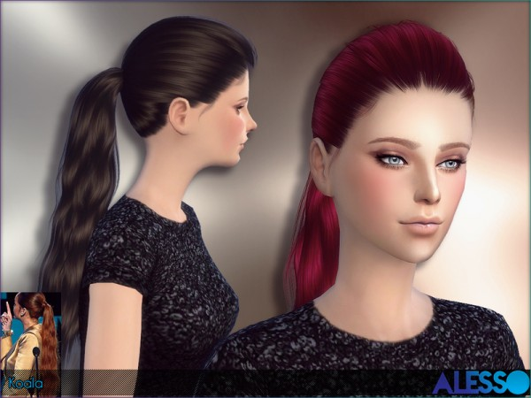 The Sims Resource: Alesso   Koala Hair