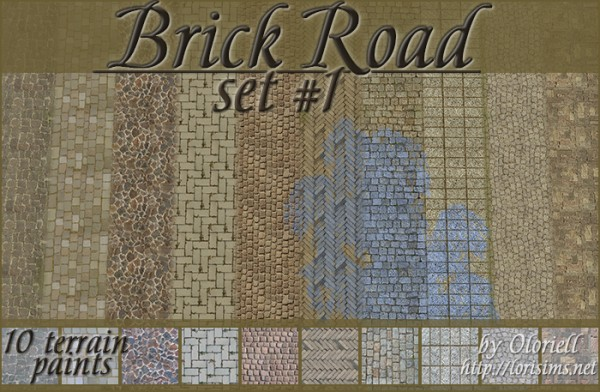 Lori Sims: Brick Road set 1