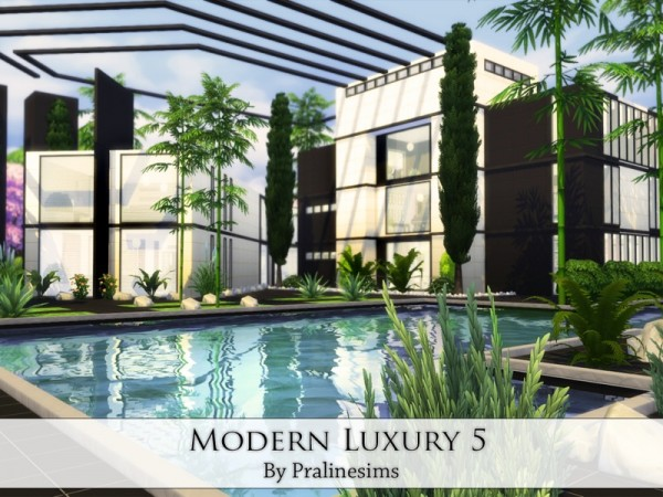 The Sims Resource Modern Luxury 5 By Praline Sims Sims