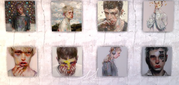 SIM SONS: Paintings by Xhxix