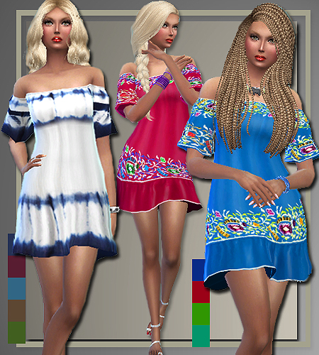 All About Style Boho Summer Sims 4 Downloads