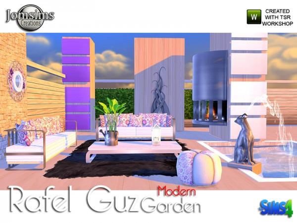 The Sims Resource: Rafel guz modern garden by jomsims