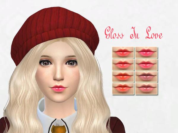 The Sims Resource: Gloss in love by Sakura Phan