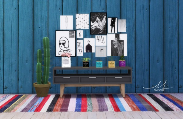 Sim Sons Collage Frames Sims 4 Downloads