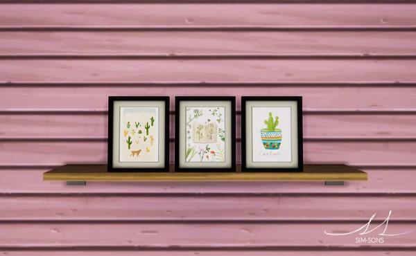 SIM SONS: Plant Art Collection 01