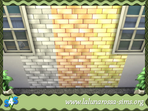 La Luna Rossa Sims: Metal Bricks