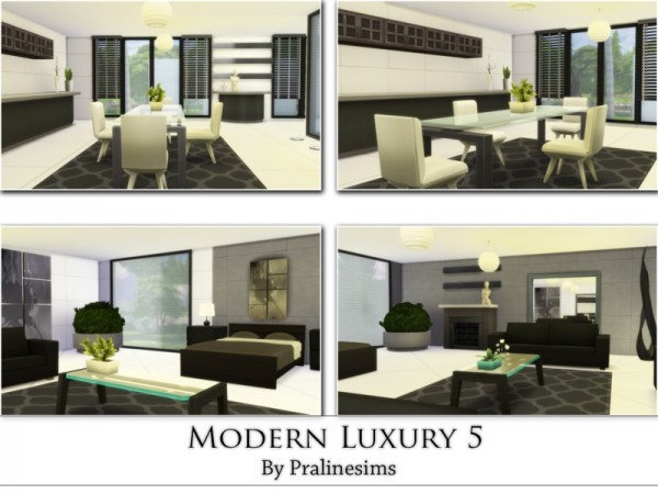 The Sims Resource: Modern Luxury 5 by Praline Sims