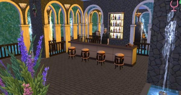 Mod The Sims: Atlantis   underwater nightclub  by Sauris