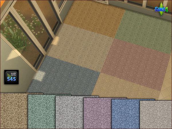 Arte Della Vita 4 Carpet Floors In 6 Different Colors