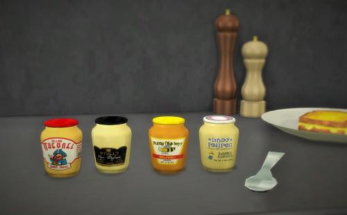 Budgie2budgie: Mustard   4 little jar