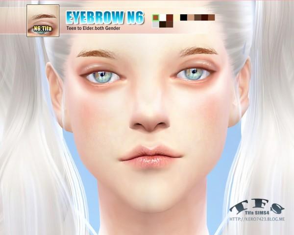 Tifa Sims: Eyebrow N6