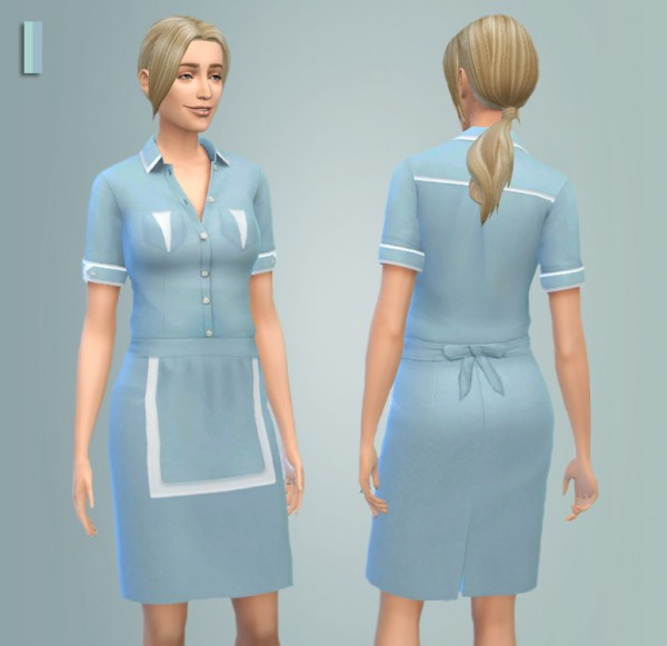 Martine Simblr: Double dinner uniform