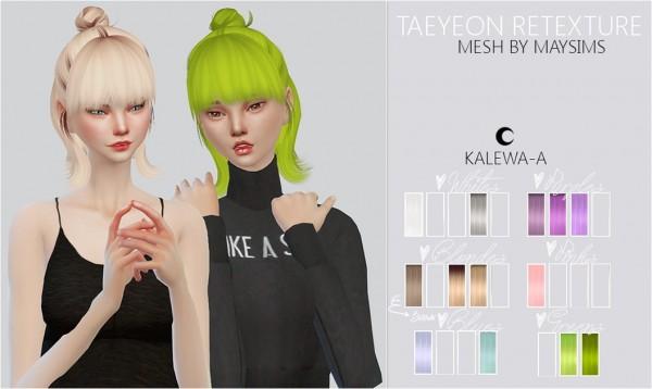 Kalewa a: Taeyeon Re texture