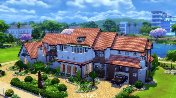 Jarkad sims 4 casa azura sims 4 downloads for Sims 4 piani di casa
