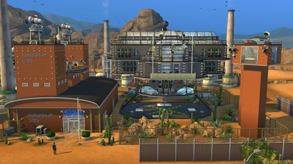 Mod The Sims Futuresim Labs Career Venue Reworked For