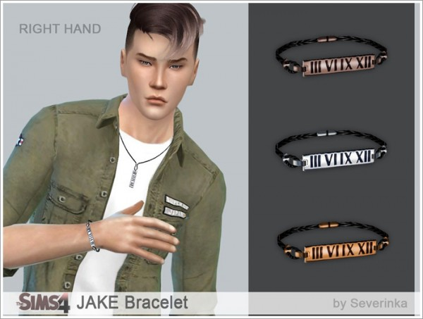 Sims by Severinka: JAKE Accessories