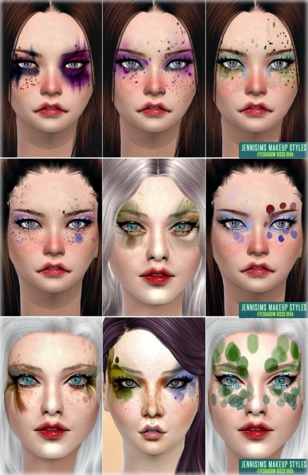 Jenni Sims: Makeup Styles Disco Diva Fantasy Eyeshadow