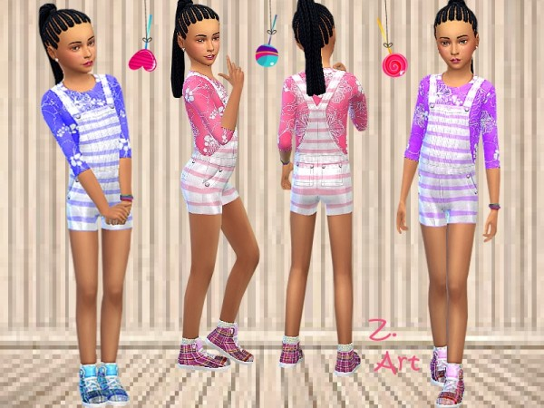 The Sims Resource: More Fun outfit by Zuckerschnute20