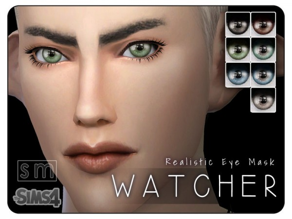 The Sims Resource: Watcher    Realistic Eye Mask