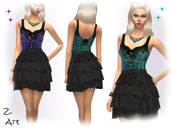 The Sims Resource: Bodice Beauty by Zuckerschnute20