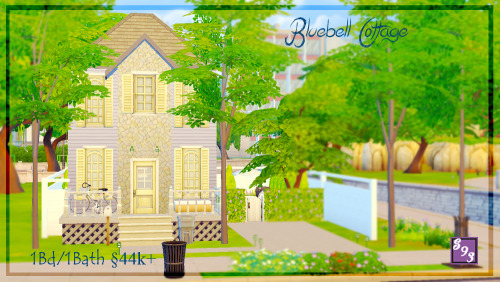 The Stories Sims Tell: Bluebell Cottage