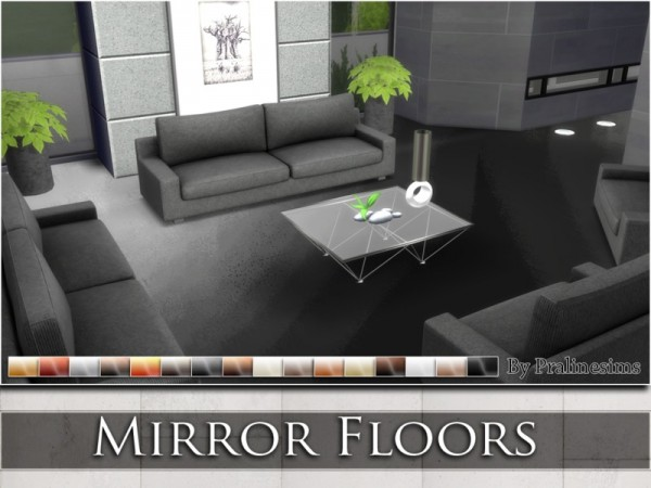 The Sims Resource: Mirror Floors by Praline Sims