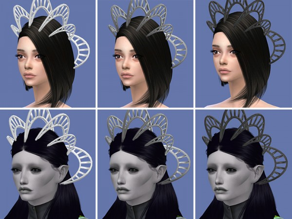 The Sims Resource Alien Crown By Soloriya Sims 4 Downloads