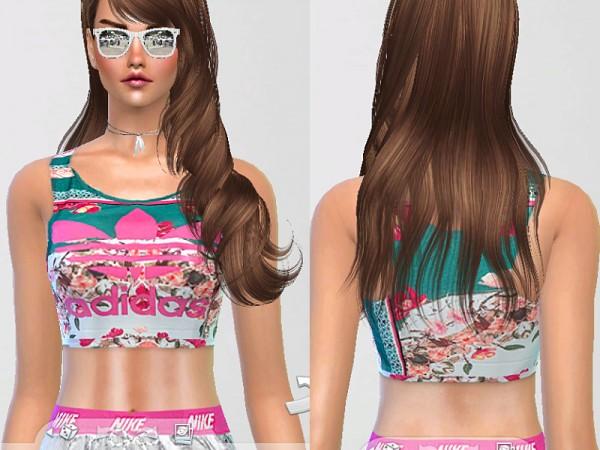 The Sims Resource: Runner Sports Training Set by Pinkzombiecupcake