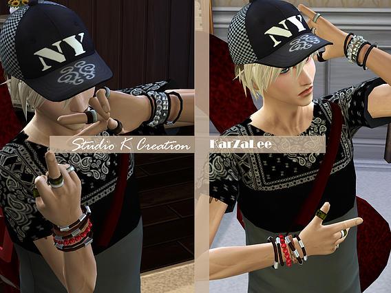 Studio K Creation: Layered Bracelets