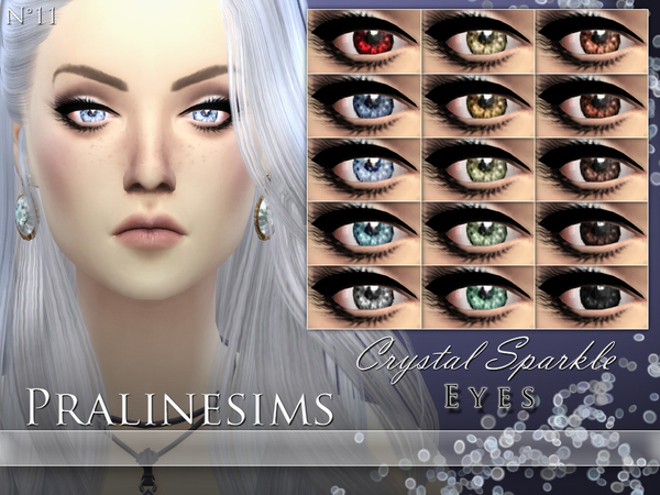 The Sims Resource Crystal Sparkle Eyes By Pralinesims