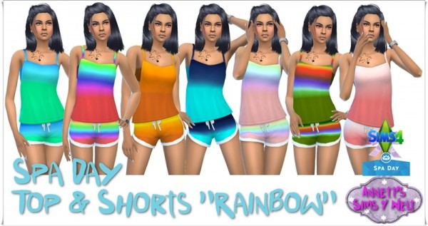 Spa Day Shorts Recolor