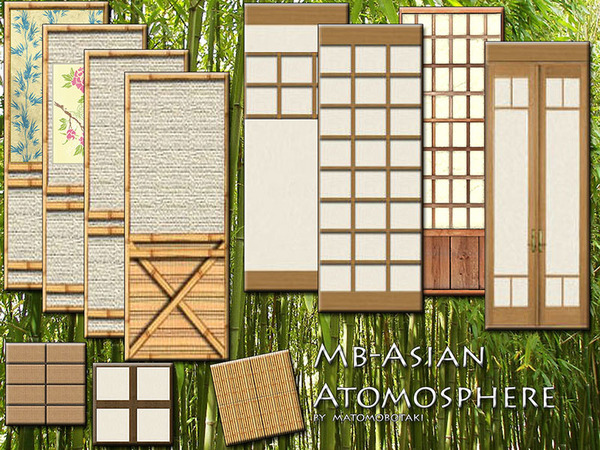 The Sims Resource: MB AsianAtmosphere by matomibotaki