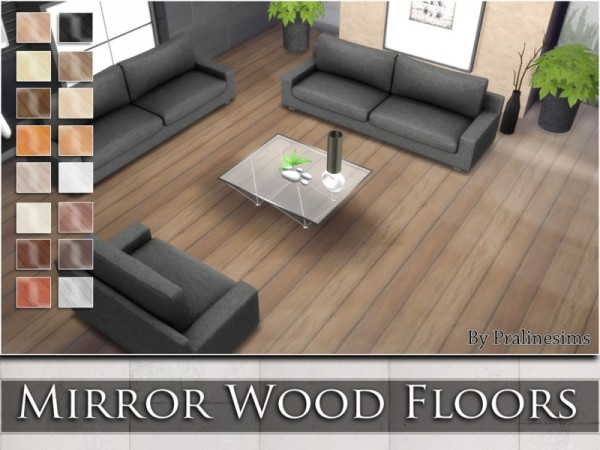 The Sims Resource Mirror Wood Floors By Praline Sims