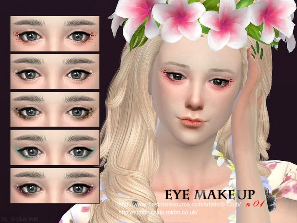 The Sims Resource Eye Makeup 01 By S Club Sims 4 Downloads