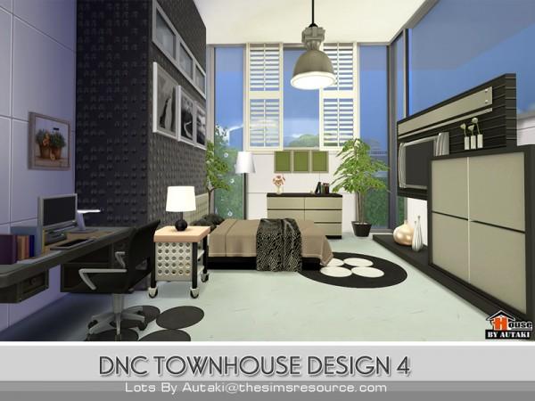 The Sims Resource: DNC Townhouse Design 4 by Autaki