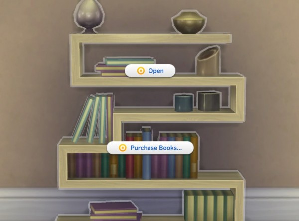 Mod The Sims: No Free Books by plasticbox