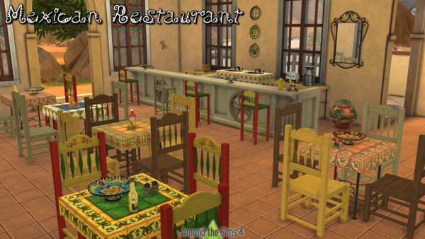 Around The Sims 4: Mexican Restaurant