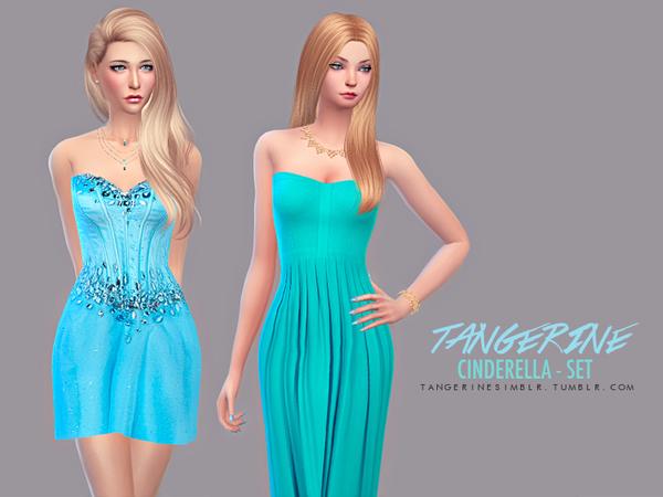 The Sims Resource: Cinderella   Set by Tangerine simblr