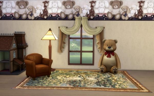 Ihelen Sims: Teddy bear walls