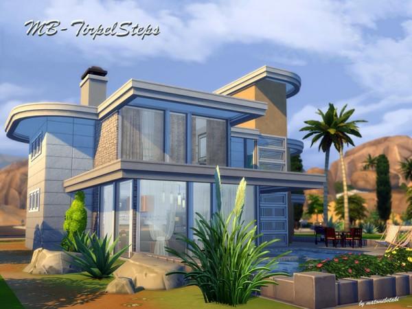 The Sims Resource: MB Triple Steps by matomibotaki