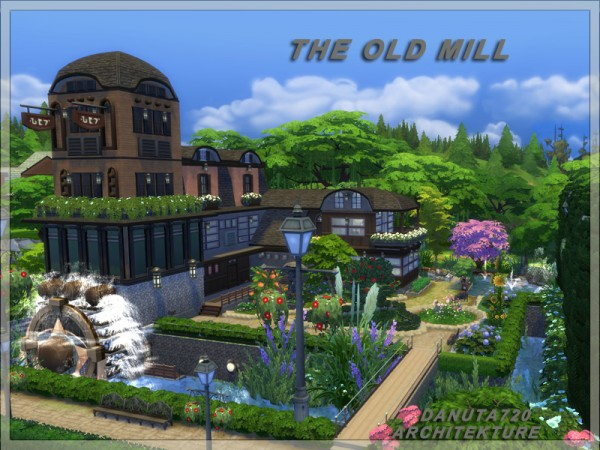 The sims resource the old mill by danuta720 sims 4 for Classic house sims 4