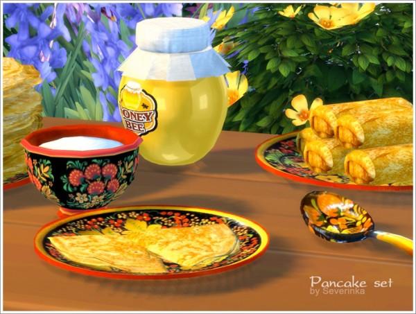 Sims by Severinka: Pancake set