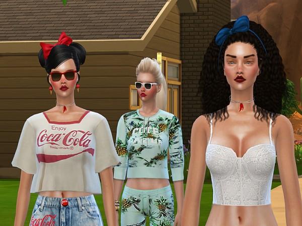 The Sims Resource: Malibu Summer Mint and Company by Pinkzombiecupcake