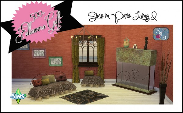 Sims 4 Designs: Followers Gift Part I: TS2 to TS4 Sims in Paris Living I