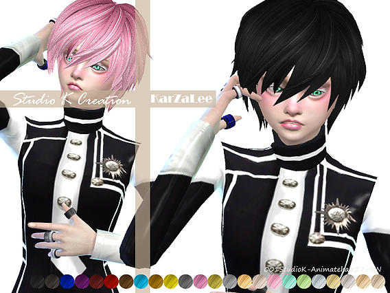 Studio K Creation: Animate hair 27 RIN