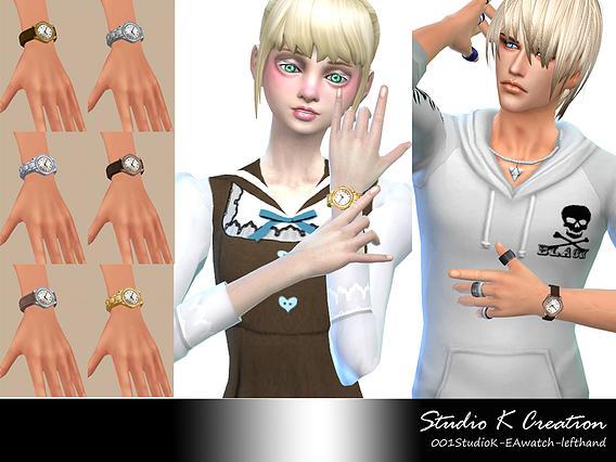 Studio K Creation: Left hand watch