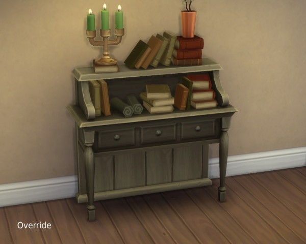 "Mod The Sims: ""Distraction"" Book Table by plasticbox"
